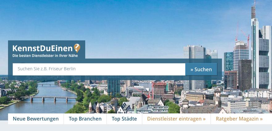 """Screenshot von """"KennstDuEinen"""""""