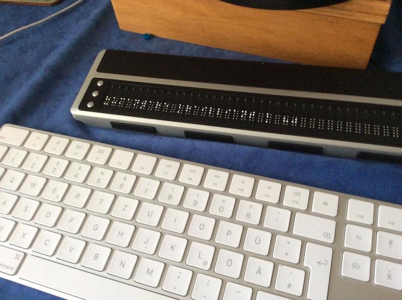 Meine Braillezeile