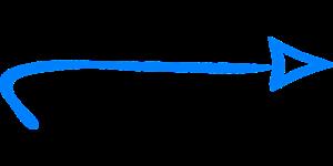 blauer Pfeil von links nach rechts